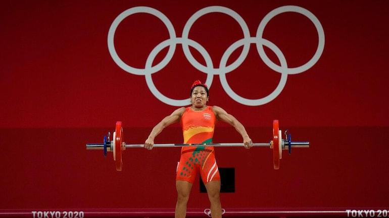 Mirabai Chanu in Tokyo Olympics 2021